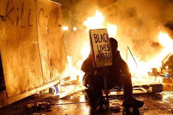 Ferguson protest-Oakland.Stephen Lam_Reuters